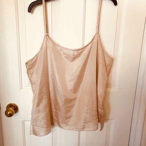 Eileen Fisher 100% silk camisole